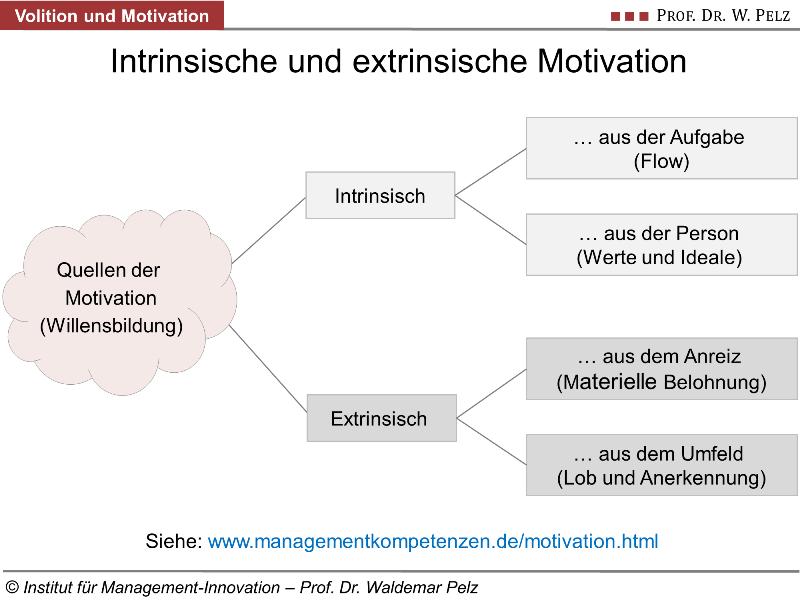 Volition ist wichtiger als Motivation: Definition, Test